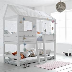 Lit Cabane Pour Enfant : le lit cabane fille id es en images ~ Teatrodelosmanantiales.com Idées de Décoration