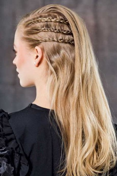 ball frisur lange haare offen frisuren kurze haare