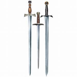 Medieval Knight Sword Cutouts
