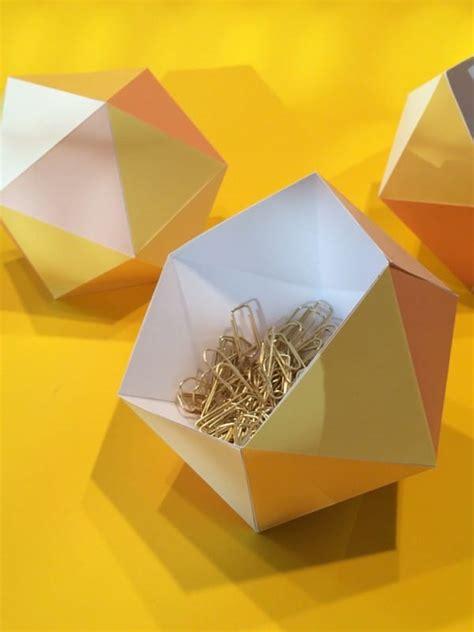 len aus papier papierschalen falten handmade kultur