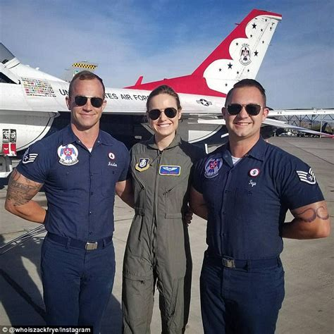 brie larson earnings brie larson dons flight suit for captain marvel daily