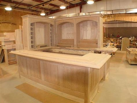 hand  cherry wood bar  furniture  carlisle llc
