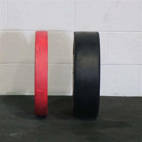 olympic rubber bumper plates black  lb single