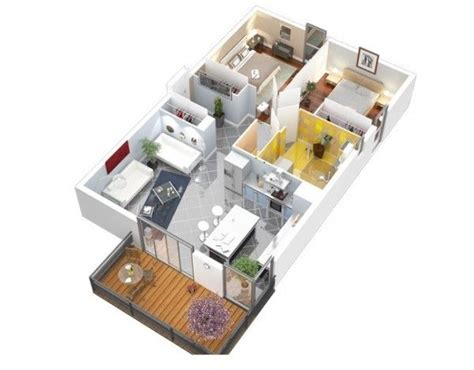 25 Two Bedroom Houseapartment Floor Plans by 25 Two Bedroom House Apartment Floor Plans Ideas For The