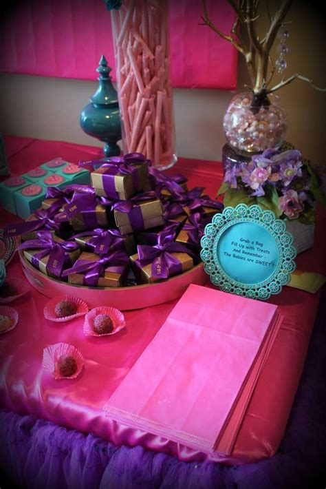 Teal And Pink Baby Shower Decorations by Pink Purple Turquoise It S A Baby Shower Ideas