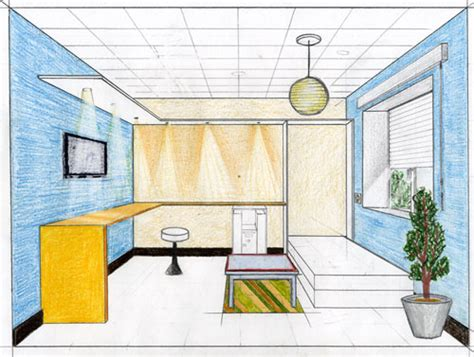 dessin en perspective d une chambre dessin d une chambre des idées novatrices sur la