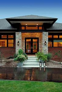 Prairie style home - Contemporary - Entry - detroit - by