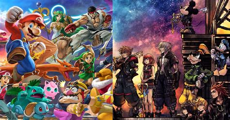 Here Is The Super Smash Bros Ultimate And Kingdom Hearts