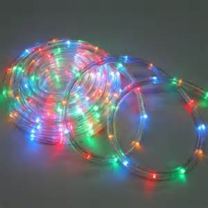 multi colored rope lights on winlights com deluxe interior lighting design