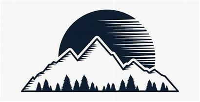 Hiking Mountain Silhouette Landscape Hike Nature Clipart