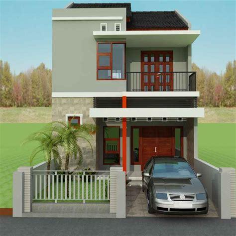 contoh gambar model desain rumah minimalis idaman