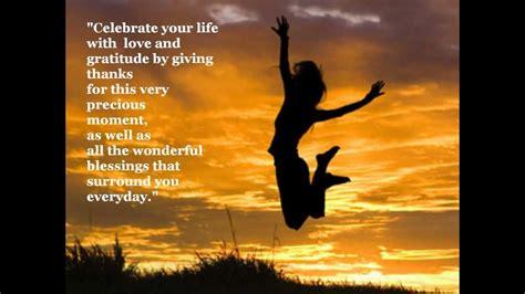 celebrate  life positive inspirational quotes youtube