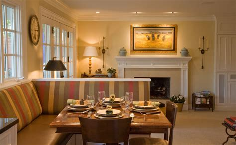 Cool Banquette mode San Francisco Traditional Kitchen