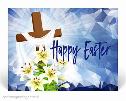 Easter Religious Christian Cross Postcards Cards Happy