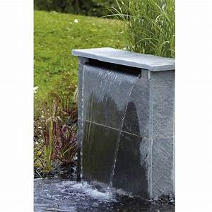 Lame D Eau Bassin : lame d 39 eau waterfall oase na ades ~ Premium-room.com Idées de Décoration
