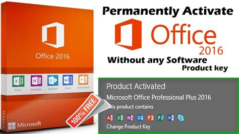 permanently activate microsoft office 2016 pro plus without any software or product key 2018