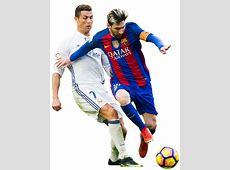 Lionel Messi Vs Cristiano Ronaldo 2017 Png