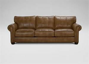 Richmond leather sofa ethan allen for Ethan allen richmond sectional sofa