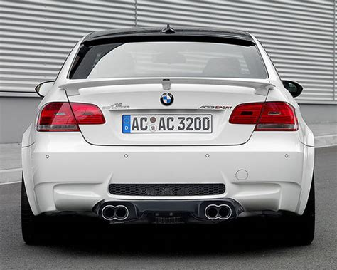Ac Schnitzer Carbon Rear Diffuser With Clear Coat Bmw M3