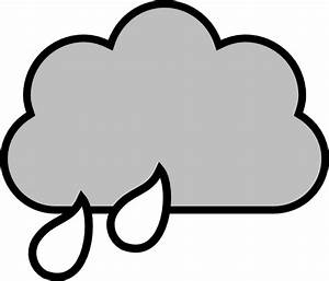 Rain Clouds With Rain | Clipart Panda - Free Clipart Images