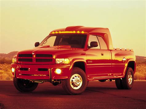 Dodge Big Red Truck Concept 1998 Old Concept Cars