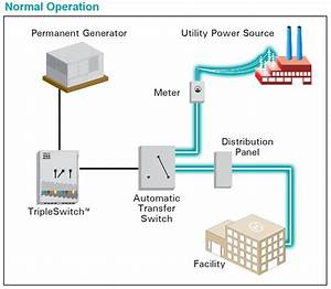 Load Bank Testing And Generator Connection Diagram