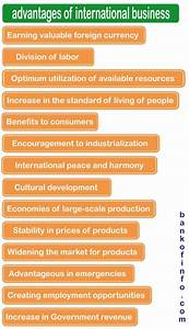 Advantages and Disadvantages of International Business ...