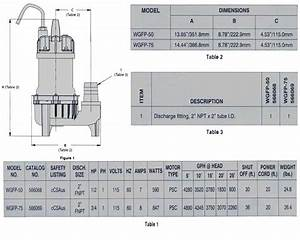 Manual Handling Flow Chart Little Giant Wgfp 75 Water Feature Pump 4900 Gph 5