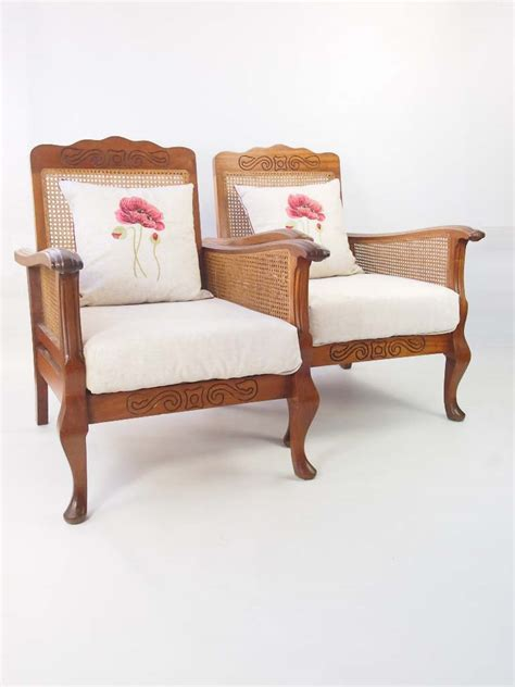 Armchairs For Sale by Pair Deco Begere Armchairs For Sale