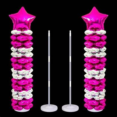 Birthday Stand Party Balloons Balloon Holder Decorations