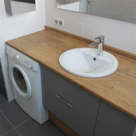 vasque sur machine a laver meuble de salle de bain meubles avec lave linge int 233 gr 233 atlantic bain