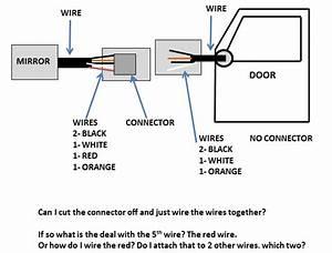 Wj- Driver Side Mirror Wire Problem-