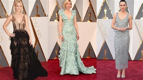 Oscars 2016 Red Carpet Fashion Wsjcom