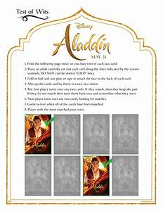 Aladdin Free Coloring Sheets To Print From Home From Disney