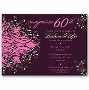 Photos Wording Surprise 60th Birthday Party Invitation Wording Funny Womans Surprise 60th Birthday Party Custom Invite Birthdays Remember This And Mom On Pinterest 60th SURPRISE Birthday Party Invitation PINK 5 X 7 Invitation C