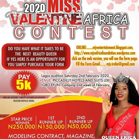 Mjv Miss Valentine Africa Welcome To Mjventertainment Blog Theyre Definitely On The List
