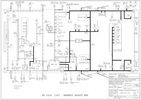 ford focus mk2 2 5 ph8m5t wiring diagram service