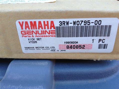 Sell Yamaha Xt225 Kick Starter Kit New Complete Start 3rw