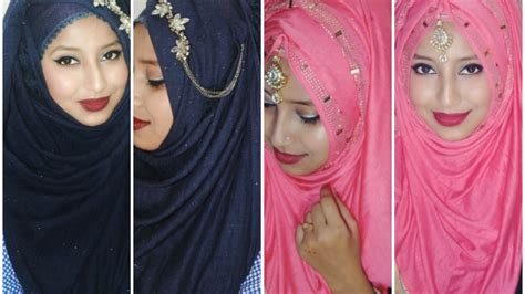 party hijab stylehijabtutorialparty  afreen