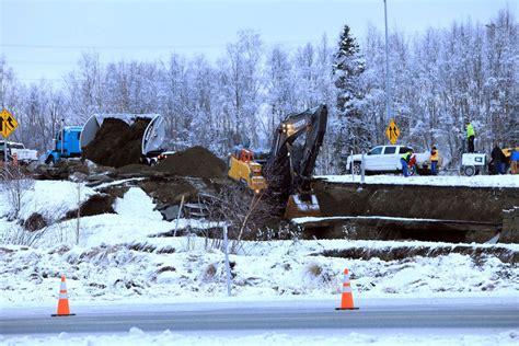 Alaska Surveys Damage From Major Earthquakes