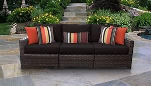 River 3 Piece Outdoor Wicker Patio Furniture Set 03c