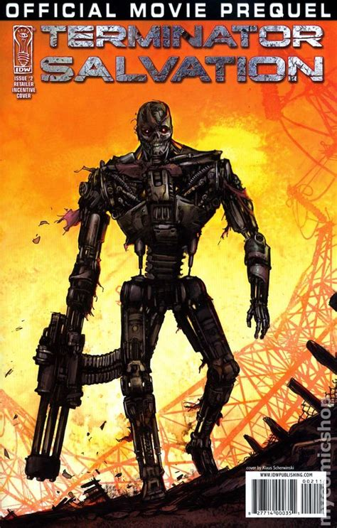 terminator salvation  prequel  idw comic books