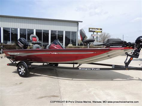 Ranger Bass Boats For Sale Missouri by For Sale New 2017 Ranger Boats Tournament Rt178c In