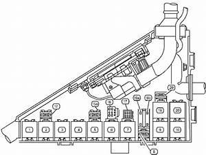 Cadillac Catera  1997  U2013 2001   U2013 Fuse Box Diagram