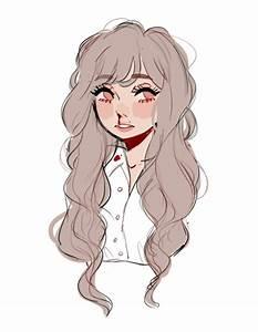 Coiffure Manga Garçon : dessin fille cheveux longs sang blessure manga ~ Medecine-chirurgie-esthetiques.com Avis de Voitures