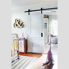 Remodelaholic  35 Diy Barn Doors + Rolling Door Hardware