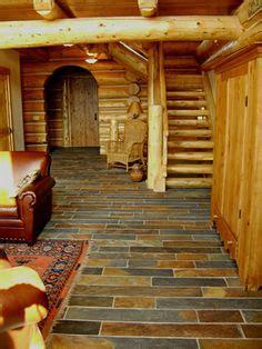 log cabin plans  wrap  porch google search log cabin kitchens slate flooring