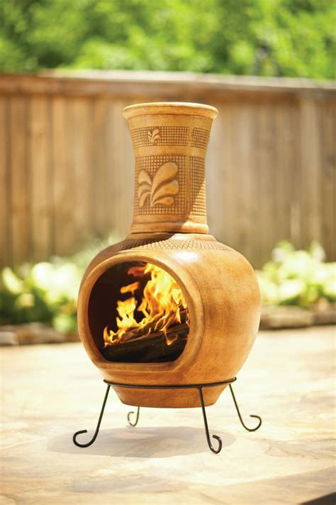 Chiminea Clay Home Depot - 14 chimineas to warm up your outdoors hgtv