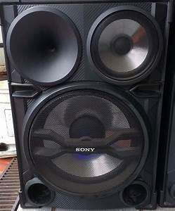 Mini System Sony Fst-sh2000 Usado Poucas Vezes