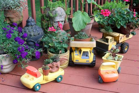 13 Unusual And Upcycled Container Gardens